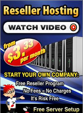 Free Reseller Program - Web Hosting Reseller